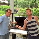 PHOTO: Neil Patrick Harris Celebrates Birthday with Grilling Lesson from Bobby Flay!