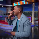 VIDEO: Will Smith Treats LATE SHOW Audience to Impromptu Performance of 'Summertime'