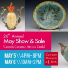 Affordable Handcrafted Ceramics To Be Sold At Canton's Museum Of Arts, 5/5-6
