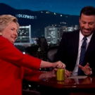 VIDEO: Hillary Clinton Proves She's In Good Health By Opening Jar of Pickles on JIMMY KIMMEL