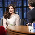 VIDEO: Idina Menzel Talks L.A. Women's March, Upcoming Tour & More on LATE NIGHT