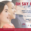Students & Teachers to Make History by Simultaneously Singing National Anthem on September 11th