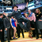 Photo Flash: Cast of CAGNEY Gathers at New York Stock Exchange to Ring Closing Bell