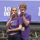 BWW TV: THE FANTASTICKS Cast Returns to Broadway in Bryant Park!