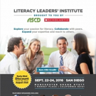 Scholastic and ASCD Launch 3-Day Professional Learning Institute for Educators, 9/22