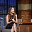 VIDEO: Sutton Foster Talks GILMORE GIRLS Reboot; YOUNGER Season Finale on 'Late Night'