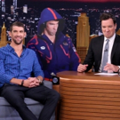 VIDEO: Michael Phelps Gets Life-Size Cutout of His Angry Olympic 'Game Face' on TONIGHT