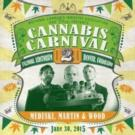 CANNABIS CARNIVAL II to Kick Off Next Week at The Fillmore Auditorium