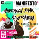MNFSTO10 to Present Anderson .Paak, Kaytranada, A Tribe Called Red and More