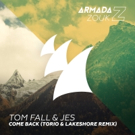 Tom Fall & Jes Release 'Come Back (Torio & Lakeshore Remix)'