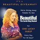 Blue Fin Raffling Tickets to Broadway's BEAUTIFUL Through February