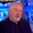 VIDEO: Robert DeNiro Talks Broadway's A BRONX TALE, Trump & More on 'The View'
