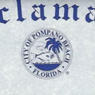 Curtain Call Playhouse Receives a Proclamation from the City of Pompano Beach