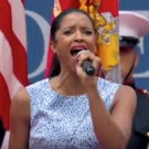 VIDEO: Tony Winner Renee Elise Goldsberry Performs 'America the Beautiful' at U.S. Open