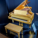 Elvis Presley's 24K Gold Piano Set for Julien's Auctions
