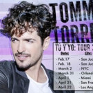 Tommy Torres Announces Upcoming 'Tu U Uo' U.S. Tour Dates
