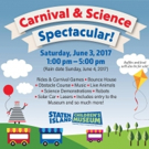 THE CARNIVAL & SCIENCE SPECTACULAR to Bring Old Fashioned Family Fun to Staten Island Children's Museum