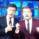 STAGE TUBE: James Corden and Stephen Colbert Team up for a Rendition of 'Me and My Shadow'