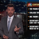 VIDEO: Jimmy Kimmel Offers Alternative Topics for First Presidential Debate