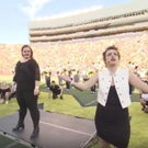 STAGE TUBE: University of Michigan Marching Band Gives Broadway Tribute in Halftime Show