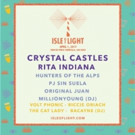 Crystal Castles to Headline Annual Isle of Light Festival This April