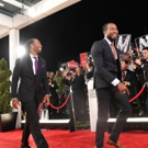 NFL Stars & Hall of Famers Shine on Red Carpet in ESPN's New Monday Night Football Open