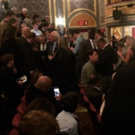Feel the Bern! Presidential Candidate Bernie Sanders Takes In Broadway's HAMILTON