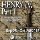 Little Fish Theatre to Stage HENRY IV, PART 1 This Fall