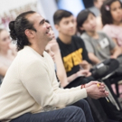 Photo Flash: HAMILTON's Javier Munoz Leads Master Class at NYC's Broadway Workshop