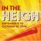 Lin-Manuel Miranda's IN THE HEIGHTS, SCOTTSBORO BOYS & More Set for Porchlight's 2016-17 Season