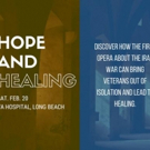 Long Beach Opera to Present HOPE AND HEALING This Weekend