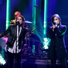 VIDEO: Tegan and Sara Perform New Song 'Boyfriend' on TONIGHT SHOW