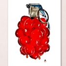Matt McKee Presents Cherry Bomb! Image at Cambridge Art Association's 2016 Red Biennial