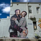 Australian Artist Destroys Own Mural of Kanye West Kissing Himself