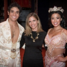 Photo Flash: Natalie Morales Visits ALADDIN