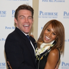 FREEZE FRAME: THE BODYGUARD's Judson Mills & Deborah Cox Meet the Press!