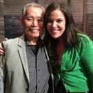 Photo Flash: Lindsay Mendez Visits Broadway's ALLEGIANCE