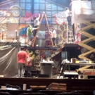STAGE TUBE: Projectivity Teams with NYC Underground to Paint Harbor Lights' RENT Set - Watch the Time-Lapse!