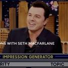 VIDEO: Seth MacFarlane Takes on the Wheel of Impressions on TONIGHT