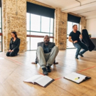 Photo Flash: In Rehearsal for THE PULVERISED at the Arcola Theatre