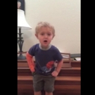 VIDEO: Adorable 3-Year-Old Performs LES MISERABLES' 'Do You Hear the People Sing?'