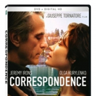 Jeremy Irons Stars In CORRESPONDENCE, Arriving on Digital HD and DVD 6/27