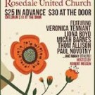 Syrian Refugee Benefit Concert to be Held at Rosedale United Church, 11/8