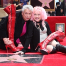 Photo Flash: KINKY BOOTS' Cyndi Lauper and Harvey Fierstein Get Stars on the Hollywood Walk of Fame