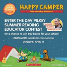 2017 Scholastic Summer Reading Challenge is Announced