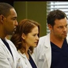 ABC's GREY'S ANATOMY Up From Week-Ago Preliminary Adult 18-49 Rating