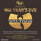 Ball Drop and Bottle Pop with Wu-Tang Clan This New Year's Eve