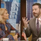 VIDEO: Jimmy Kimmel Goes Right At LIVE's Kelly Ripa with Awkward Michael Strahan Questions!