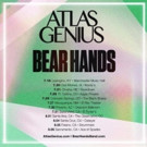 Atlas Genius Announce Summer Tour Dates with Bear Hands