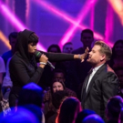 VIDEO: Jennifer Hudson & James Corden Face Off in No-Holds-Barred Rap Battle